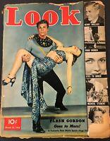 March 1938 Vtg LOOK Magazine Flash Gordon