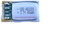 Beats By Dr Dre Power Beats 2 Wireless Headset Battery (Li-Pol, 3.7V, 80mAh)
