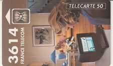 France télécarte 50  3614 France Télécom