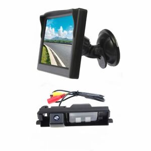 Reverse Camera & Suction Cup Rear View Screen Monitor for Toyota RAV4 2006-2012