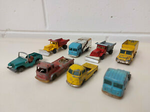 Vintage Husky Diecast - Lot Of 8 - Volkswagen, Jeep, Aveling Barford Plus More