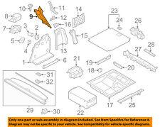 BMW OEM 11-17 X3 Interior-Rear-Rear Pillar Trim Left 51437226601