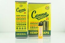 2 Boxes 50 Pouches Terpene Infused Canna Organic Wraps Original Made In USA