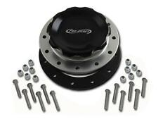 Pro-werks Easy Turn 4 1/4 in. Black Fill Cap w/Aluminum 12 Hole Fuel Cell Bung
