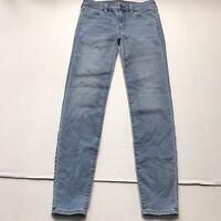 American Eagle Light Medium Wash Jegging Skinny Jeans Size 0 a485