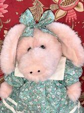 Boyds Bears Primrose P. Trufflesnout Plush Piggie Teddy Bear #9160-03 w/Tags