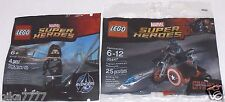 LEGO Captain America's Motorcycle & Winter Soldier 30447 5002943 Marvel Avengers