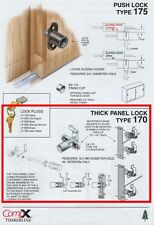 "TIMBERLINE #CB-170 REMOVABLE CORE CAM LOCK, FOR 7/8"" TO 1-3/8"" MATERIAL"