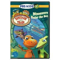 Dinosaur Train: Dinosaurs Under the Sea [New DVD] Dolby, Widescreen