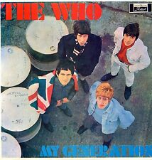 "THE WHO ""MY GENERATION"" ORIG NEW ZEALAND 1966 RARE EX"