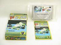 SUPER F1 CIRCUS Ref/bcc Super Famicom Nintendo sf