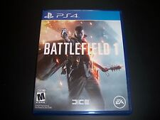 Replacement Case (NO GAME) BATTLEFIELD 1 ONE PlayStation 4 PS4 100% Original Box