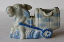 New ListingDonkey-Mule Burro Figurine Ashtray Ceramic-Porcelain Hand Painted Made in Japan
