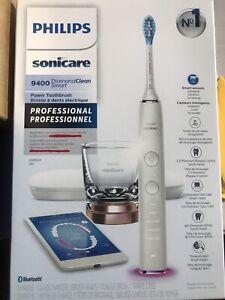 Philips Sonicare HX9924/01 DiamondClean Smart 9400 Electric TB Pro Model - White