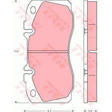 TRW Original Bremsbelagsatz, Scheibenbremse Proequip 29122 Vorderachse GDB5068