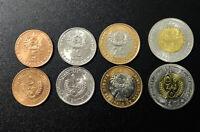 MAURITANIA SET 4 COINS 5 10 20 50 OUGUIYA BI-MATALLIC 2009-2010 KM 52 - 56 UNC