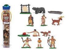 Powhatan Indianer  (12 Minifiguren) Serie Themengebiet Safari Ltd 680304