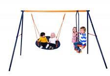 Hedstrom Nebula Kids Childs Outdoor Playground Play Set Glider And Nest Swing