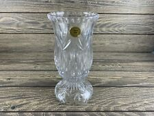 Princess House Highlights Lead Cut Crystal 2pc Candle Lamp
