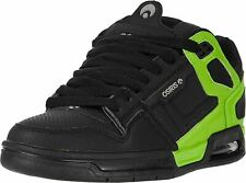 Osiris Peril Black Light Grey Lime Mens Skate Trainers