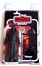 STAR WARS Vintage Style Custom Carded KYLO REN 5 Inch Action Figure MOC
