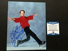 Scott Hamilton Hot signed autographed Olympic skating 8x10 photo Beckett BAS coa