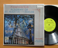 OL 264 ED1 A Second Recital By The Academy Of St Martin-In-The-Fields 1963 NM