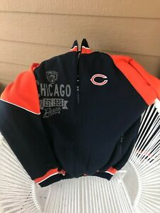 NFL Chicago Bears Zip Jacket SZ XL