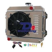 2Row Radiator&Shroud&Fan&Relay FOR TOYOTA COROLLA KE30 KE38 KE55 KE70 74-85 MT
