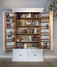 Larder Cupboard- Bennington Style 2 door 2 drw- Made To Order In The Midlands Uk