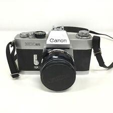 Canon EX Auto Film SLR Camera w/ 50mm f1.8 #404