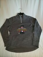 Womens Majestic 2016 World Series Half Zip Chicago Cubs Pullover 1/4 Zip Size M