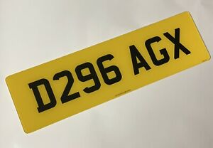 Oversize Rear 21 X 6 road legal Number Plate 100% MOT Compliant free post
