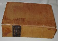 1881 John B Gough Sunlight & Shadow Suede Leather Covered Antique Signed HB Book