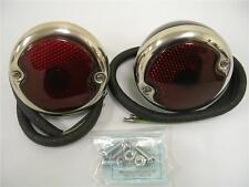 1935 - 1948 Ford Sedan 1946 - 1952 Pickup Truck Tail Lights PAIR Left Right Set
