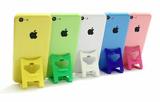 iPhone 5c Holder GREEN iClip Folding Travel Desk Display Stand Rest