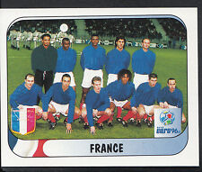 Merlin Football Sticker - UEFA Euro 1996 - No 148 - France Team Group