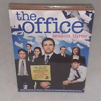The Office Season 3 Third DVD 2007 4-Disc Set Steve Carrell John Krasinski New