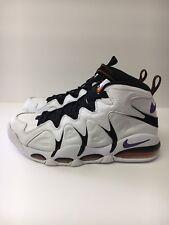 Nike Air Max CB34 Charles Barkley Suns White Purple Orange 414243-100 Size 9.5