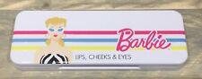 2019 Barbie doll Lips, Cheeks & Eyes Make up Palette NRFB blush eyeshadow