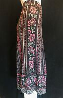 BNWT MONSOON Multi Coloured Studded Drawstring Waist Skirt XL UK 16