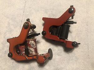 Bareknuckle irons tattoo machines. liner/shader