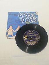 """GUYS & DOLLS - vinyl 7"""" 45 EP - Original Aussie Cast"""