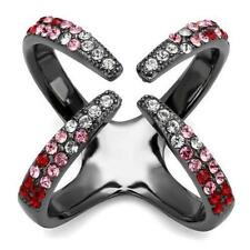 Cubic Zirconia Epoxy Stainless Steel Costume Jewellery