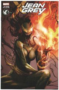 Jean Grey 1 A Marvel 2017 Francesco Mattina Variant Venom Venomized