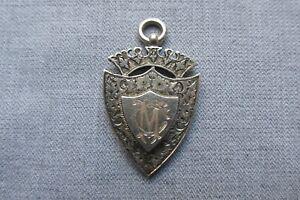 Silver Fob / Medal -- Volunteer Batt. -- East Surrey Regiment -- 1901 - Military