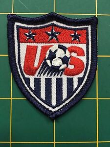 """US soccer patch FIFA world cup soccer US Team patch 2.5"""" tall us soccer patch"""