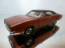 FRANKLIN MINT  DODGE CHARGER - COPPER 1:43 - EXCELLENT - 39/38