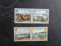 GUERNSEY 1983 EUROPA INVENTIONS SET 4 MINT STAMPS