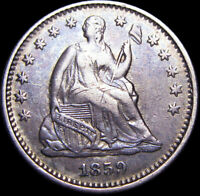 1859-O Seated Liberty Half Dime ---- Nice Type Coin L@@K ---- #K625